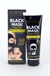 Revuele Black Mask mustapäänaamio - Kollageeni 80ml