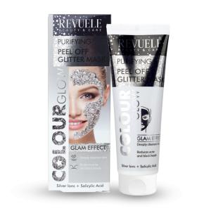 Revuele Peel Off Glitter Mask - Silver 80ml