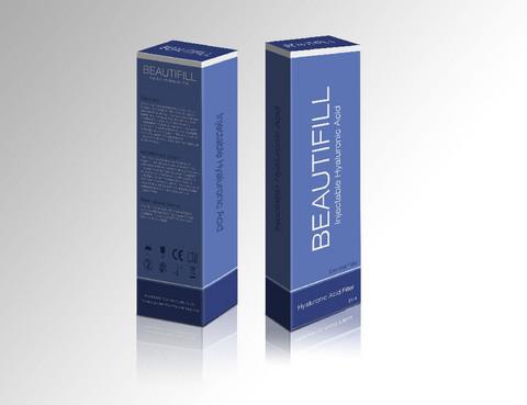 Beautifill Hyaluronihappo pistokset 1ml & 2ml ampullit
