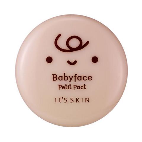 Babyface petit pact puuteri 02 natural beige 5g