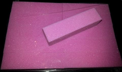 Vaaleanpunainen hilepufferi 1 kpl