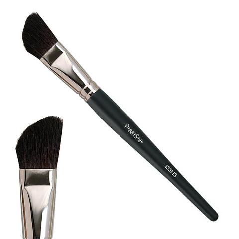 Oblique brush for cheekbones - Goat hair