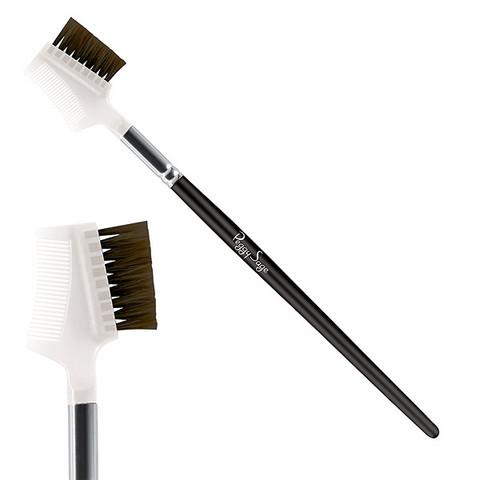 Brush with comb/ eyelash and eyebrow brush - Nylon