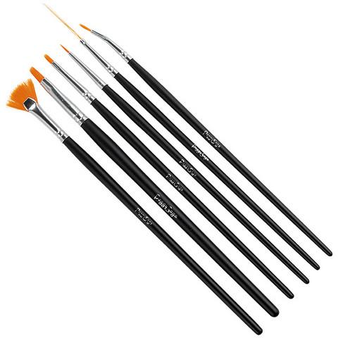 Set 6 nail art brushes