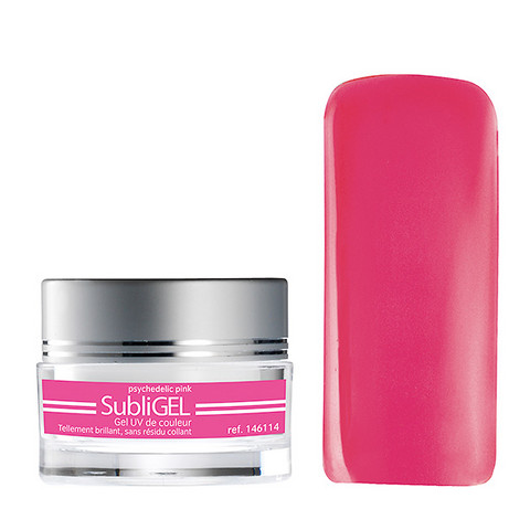 Coloured UV Subligel 7 ml - psychedelic pink
