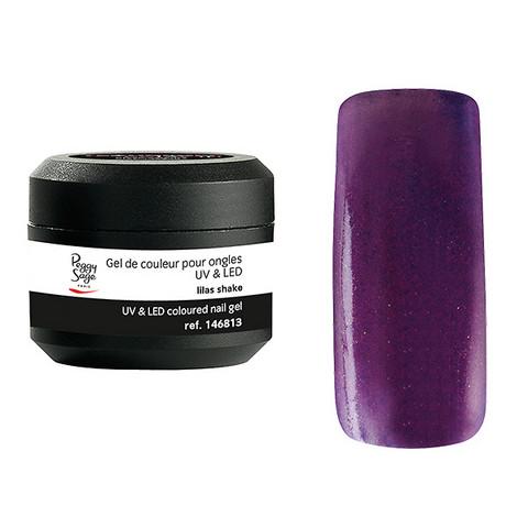 Coloured UV nail gel lilas shake 5g