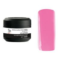 Coloured UV nail gel pink guimauve 5g
