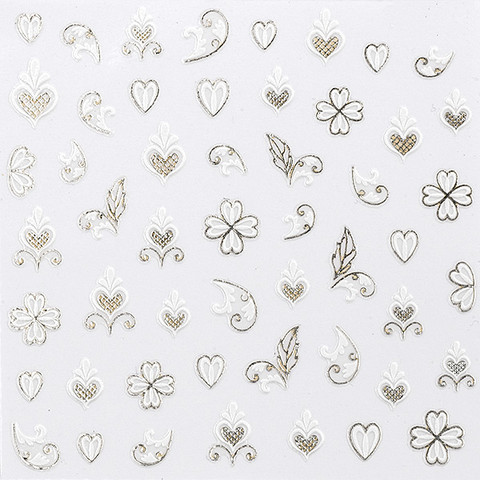 Decorative nail stickers Spring chic
