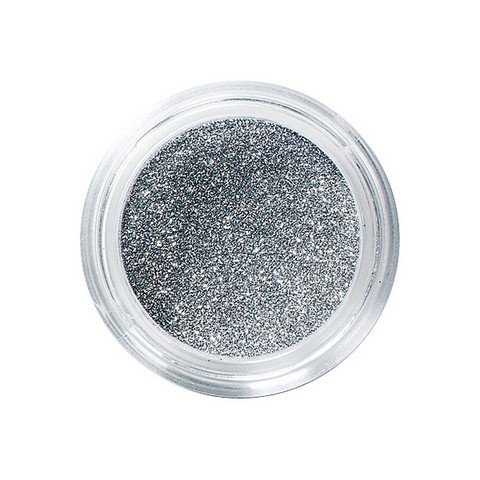 Nail glitters argent