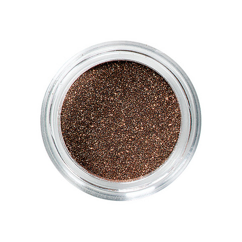 Nail glitters cuivre