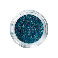 Nail and body glitters bleu