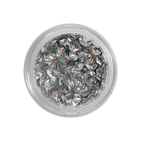 Nail glitters losange noir