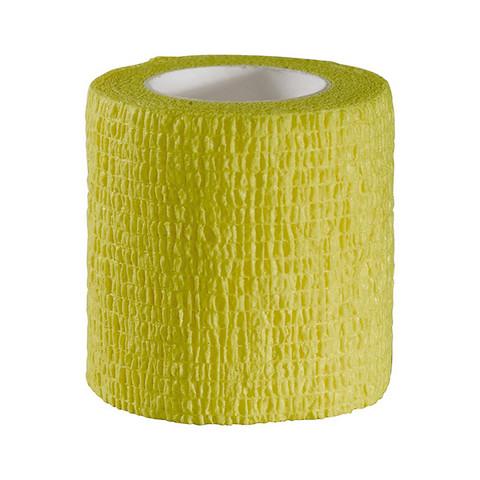 Self adhesive strip yellow