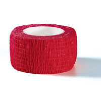 Self adhesive strip red