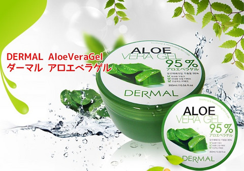 Dermal Aloe Vera Geeli 95% 300ml