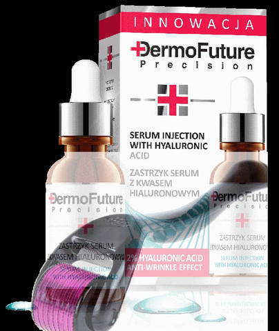 *** MNS Dermarolleri 540 neulaa, titanium 0,5mm +  Dermofuture Precision: C-vitamiiniseerumi 20ml ***