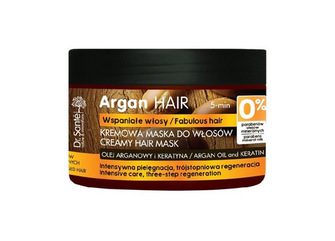 Dr. Sante Argan HAIR täyteläinen hiusnaamio keratiinilla 300ml
