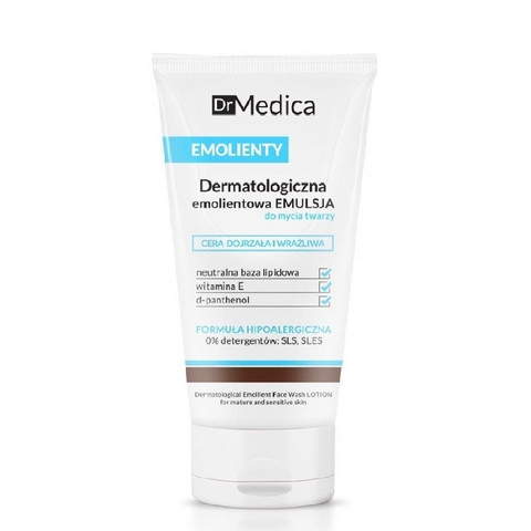 EMOLLIENT Face wash lotion - Ikääntyvän & Herkän ihon puhdistusemulsio 150ml