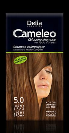Vaalean ruskea sävyttävä (5.0) shampoo 40ml