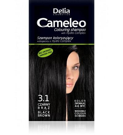 MUSTAN RUSKEA sävyttävä (3.1) shampoo 40ml