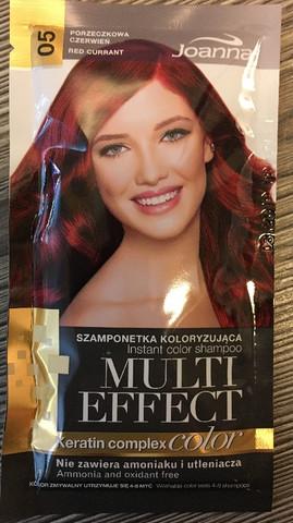 05 Red Currant - Joanna Multi effect sävyttävä shampoo