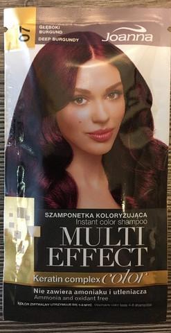 07 Deep Burgundy - Joanna multi effect sävyttävä shampoo
