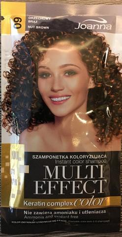 09 Nut Brown - Joanna multi effect sävyttävä shampoo