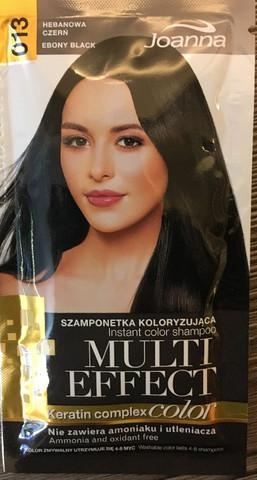 013 Ebony Black - Joanna multi effect sävyttävä shampoo