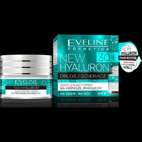 Eveline New Hyaluron Cream 30+ For First Wrinkles 50ml