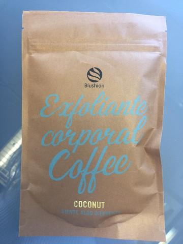 Blushion Coffee vartalonkuorinta-aine - COCONUT 135g