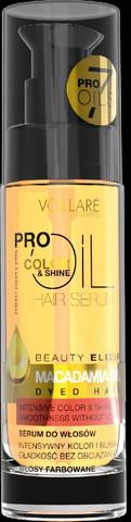 Vollaré Color & Shine Macadamiaöljy värjätyille hiuksille 30ml