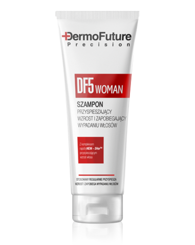 DermoFuture DF5 WOMAN Shampoo stimulating hair growth, 200 ml