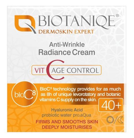 Biotaniqe VitaC 40+ Kirkastava anti-wrinkle päivä/yövoide 50 ml