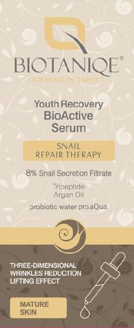 Biotaniqe 50-70+ Snail Nuorekkuuden palauttava Etanaseerumi 20ml