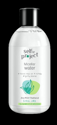 Selfie Project Misellivesi meikinpuhdistukseen 250ml