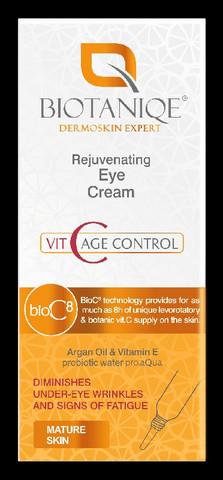 Biotaniqe VitaC Nuorentava silmänympärysvoide 15ml
