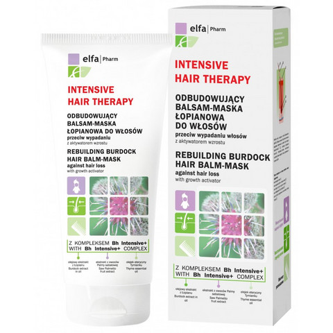 Intensive Hair Therapy jälleenrakentava takiaishoitoaine & naamio 200ml