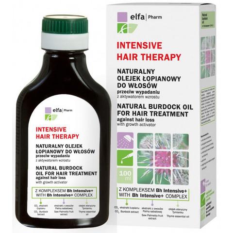 Intensive Hair Therapy Takiaisöljy hiustenlähtöä vastaan 100ml