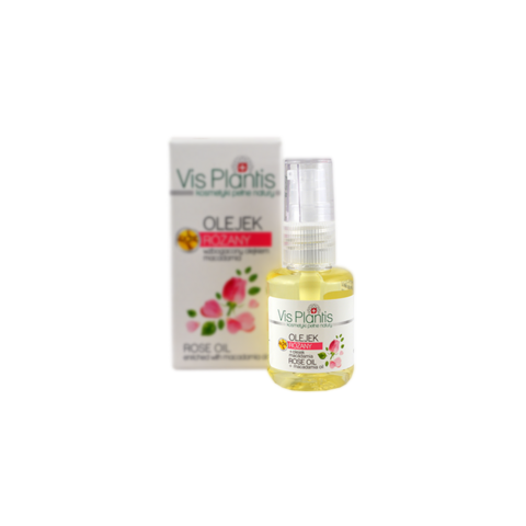 Vis Plantis Ruusuöljy + macadamia kasvoöljy 30ml