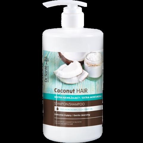 Dr. Santé Coconut kosteuttava ja suojaava shampoo 1000ml