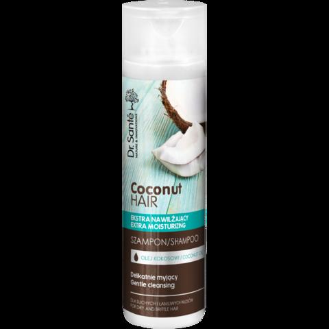 Dr. Santé Coconut kosteuttava ja suojaava shampoo 250ml