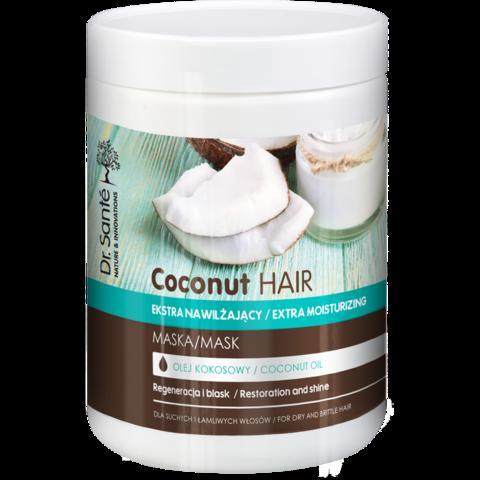 Dr. Santé Coconut kosteuttava ja suojaava hiusnaamio 1000ml