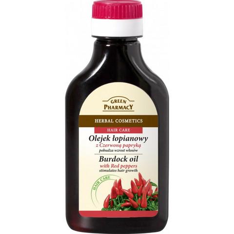 Green Pharmacy - Hiustenkasvua stimuloiva öljy - Red peppers 100ml