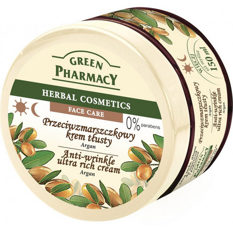 Green Pharmacy - Argan anti-wrinkle päivävoide 150ml
