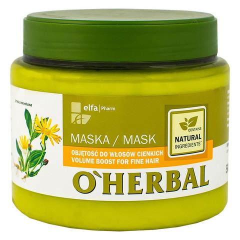O'Herbal Tuuheuttava hiusnaamio hennoille hiuksille 500ml