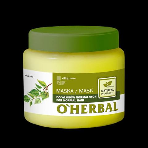 O'Herbal Hiusnaamio normaaleille hiuksille 500ml