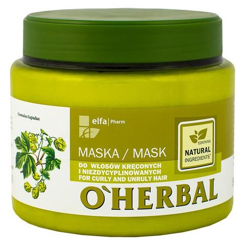 O'Herbal Hiusnaamio kiharille ja karheille hiuksille 500ml