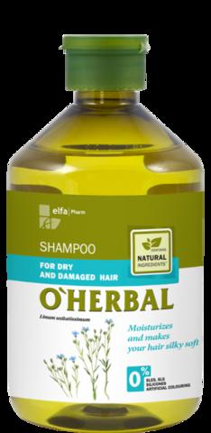 O'Herbal Shampoo kuiville, vaurioituneille hiuksille 500ml