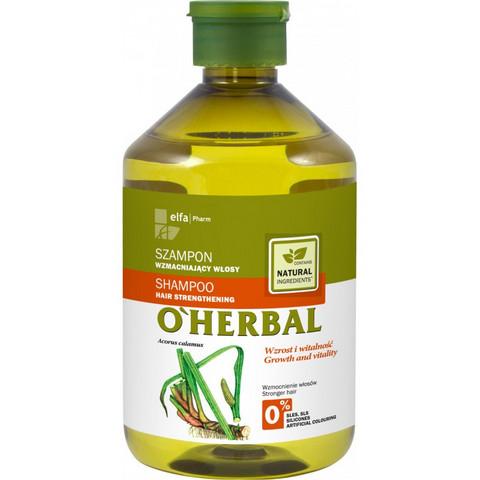 O'Herbal Vahvistava shampoo hauraille hiuksille 500ml