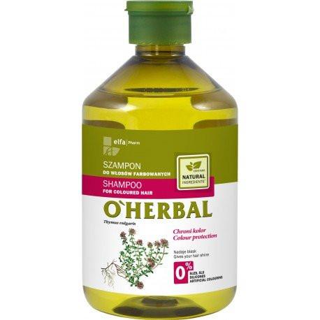 O'Herbal Shampoo värjätyille hiuksille 500ml